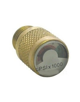 Spare Air Dial Gauge Pressure Indicator 3000 psi