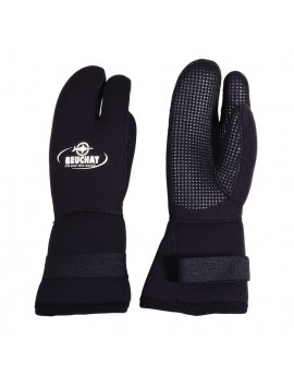 Beuchat 3-Finger Mitts 7mm