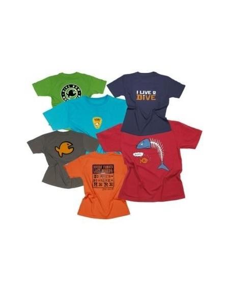 iQ Fishinho Mens Footy T-shirt