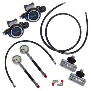 Hollis Sidemount Regulator Kit