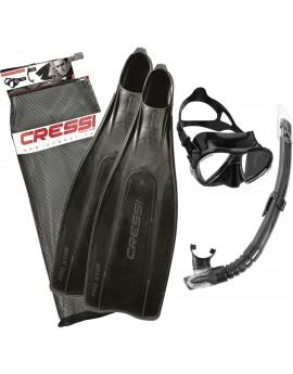 Cressi Pro Star Bag Snorkelset