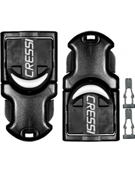 Cressi Buckles for Rondine A/Reaction/Frog Plus (Pair)
