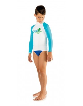 Cressi Rash Guard Long Junior Octopus
