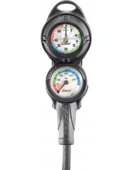 Cressi Console PD2 Pressure + Depth Gauge