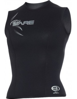 Bare 3mm Sport Vest Black Women